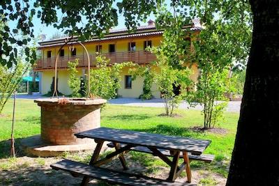 Delizia Estense del Verginese, Portomaggiore, Emilia-Romagna, Italy