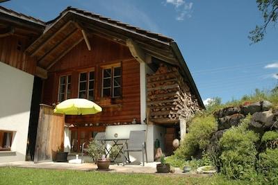 Maison tropicale de Frutigen, Frutigen, Canton de Berne, Suisse
