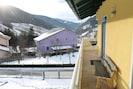 Aussicht vom Ferienhaus [Winter]