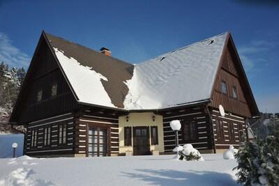 Exterieur vakantiehuis [winter]