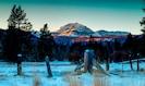 Mount Lassen...Lassen Volcanic National Park just around the corner