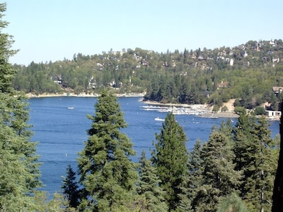 Panoramic lakeview from house.