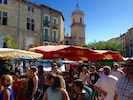 """Pezenas has a wonderful Saturday Market all year long that is steps from """"No.2""""."""