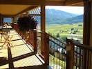 the beautiful decks with views