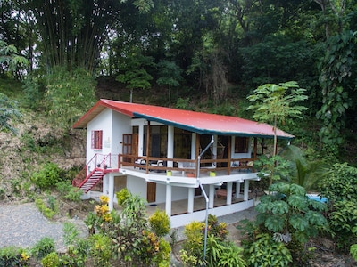 Sit and read on the deck, lounge in hammock chairs, grill and enjoy nature.