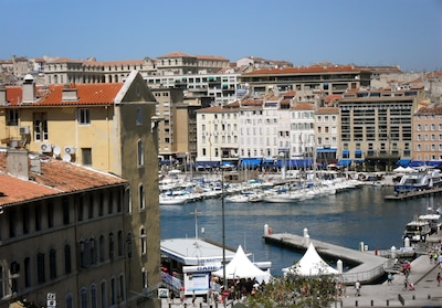 The Old Harbor: View from the balcony