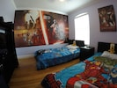 Star wars twin bedroom for you little jedi