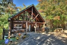 Level parking, picnic table, new charcoal grill.  Property located on cul-de-sac