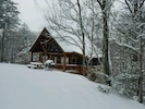 After a winter storm 0ur winter wonderland