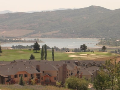 Pineview Reservoir and Adjacent Golf Course