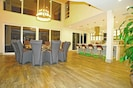 Large Dining area and open concept Gourmet Kitchen