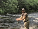 Fly fishing doesn't get any better.  We have local guides for fishing, hunting,