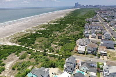 View Towards Atlantic City