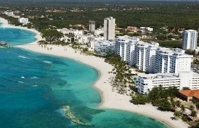 The Marbella Resort white towers