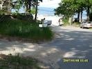 Cottage view-Lake Michigan's Pere Marquette beach