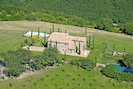 Podere Palazzo from above