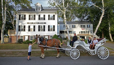 Horse Carriage rides at the Old River House.