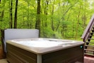 Your own outdoor 7 person Hot Spring hot tub with 49 jets of relaxation