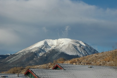View from my porch to Buffalo Mountain.