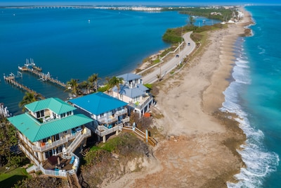 500+ yards of smooth, private & isolated beach to the immediate north