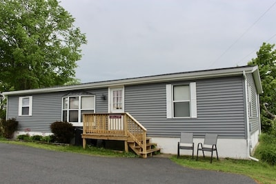 43330 Seaway Ave, Alexandria Bay, NY 13607, Front View, Newly Renovated in 2019.