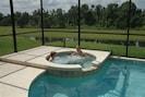 Enjoy the spa