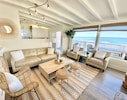 Living room ocean views are spectacular