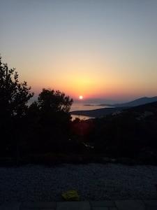 Figia Beach, Karystos, Central Greece, Greece
