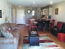 SPACIOUS LIVING-DINING-KITCHEN