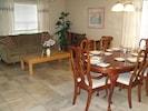 Living/Dining room - Elegant dining for 6-8