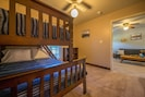 Kids will love the bunk beds in the 2nd bedroom!