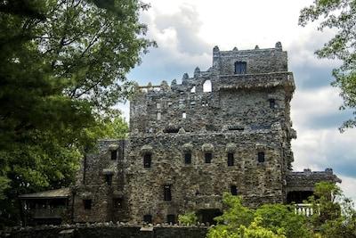 Tour Gillette Castle State Park in East Haddam (15 mi via CT 196S)