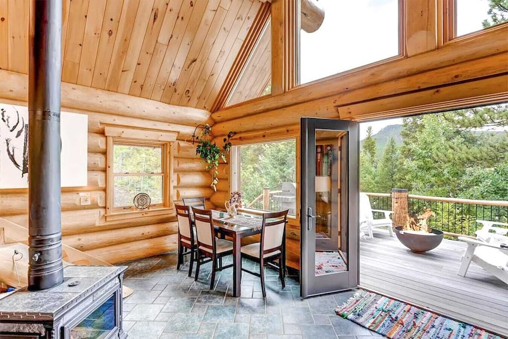 """""""This is the most beautiful cabin I've ever seen or stayed in. My boyfriend and I went there and it was super romantic and magical."""" - Erica"""