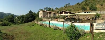 Camporeggiano, Gubbio, Umbrien, Italien