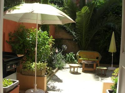 Dans le jardin, ombre ou soleil !