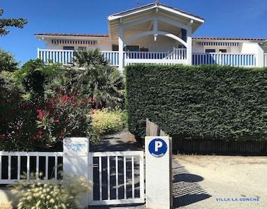 Façade Villa La Conche