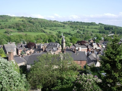 Nestled on a hillside above the town of Wirksworth