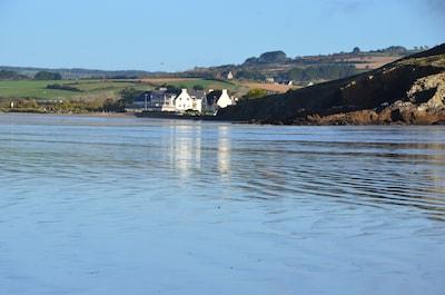 immeuble vu de la plage