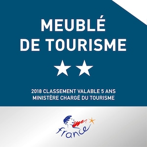 appartement classé 2 étoiles par l'office franҫais du tourisme