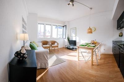 Apartamento completamente reformado y acogedor en el centro de la ciudad.