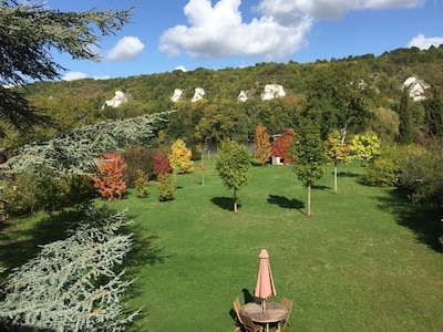 Jardin aux roches blanches