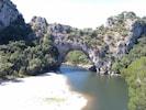 Photo touristique du Pont d'Arc