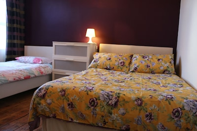 Bedroom 2 Double Bed + Single Bed