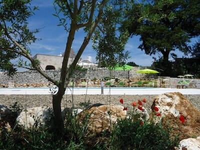 The pool & trullo