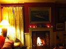 Fires lit and ready for a great evening in