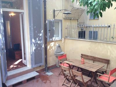 Le jardin, the garden, il giardino del Colosseo