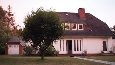 Vorderansicht Ferienhaus Amrum
