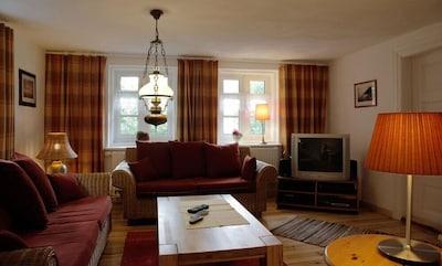 Wohnzimmer - jetzt mit LED-TV