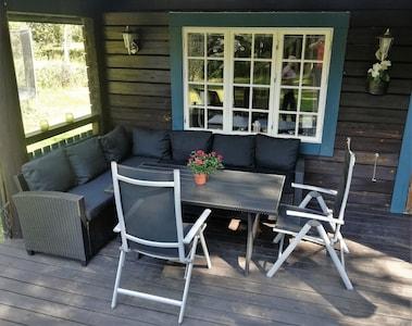 Sitzgelegenheit Terrasse