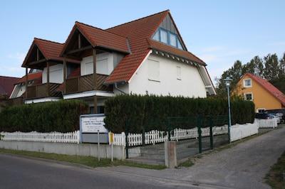 Ferienwohnung Prise1 im Ostseebad Breege-Juliusruh / Rügen am Breeger Bodden